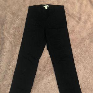 H&M Black Bootleg Trouser
